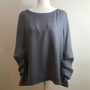 COS Blouse with Unique Sleeves